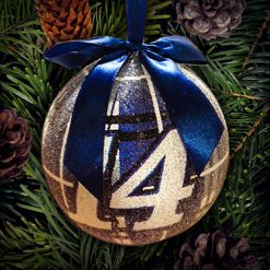 TS CHRISTMAS BALL ORNAMENT