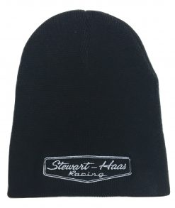 Exclusive Stewart-Haas Racing Black Knit Beanie