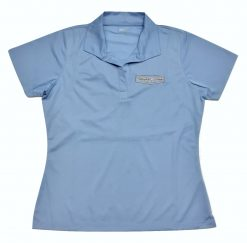 Exclusive Stewart-Haas Racing Ladies Blue Polo Shirt