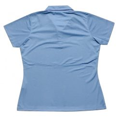 SHR LADIES BLUE POLO SHIRT