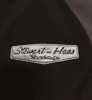 Exclusive Stewart-Haas Racing Men's Black Jacket