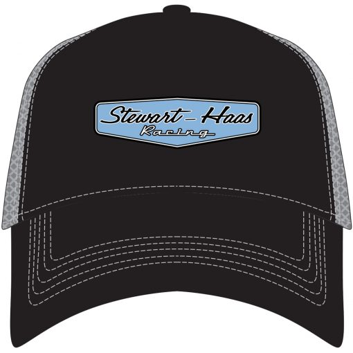 Exclusive Stewart-Haas Racing Black Front/Gray Backing Hat