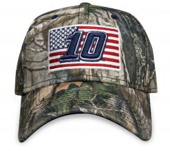 AA New Era Camo 10 Flag Hat