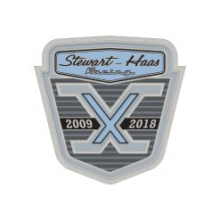 Exclusive Stewart-Haas Racing 10 Year Anniversary Lapel Pin