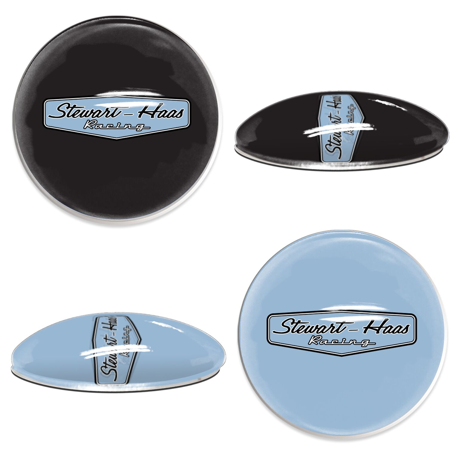 Exclusive Stewart-Haas Racing Sport Dott Magnets