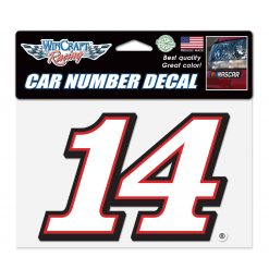 CB 2018 Rush Truck Centers Car Number Decal