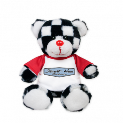 Exclusive Stewart-Haas Racing Checker Teddy Bear