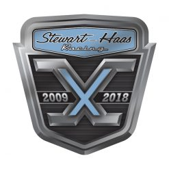 SHR 10 Year Anniversary Decal