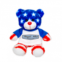 Exclusive Stewart-Haas Racing Stars N' Stripes Teddy Bear