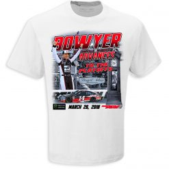 Clint Bowyer 2018 Haas Automation Stewart-Haas Racing Martinsville Win Tee