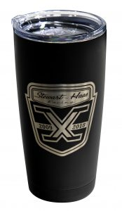 SHR 10 Year Logo 20oz Black Tumbler