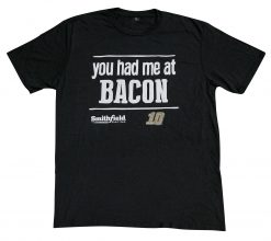 Aric Almirola Smithfield Stewart-Haas Racing You Had Me At Bacon Tee