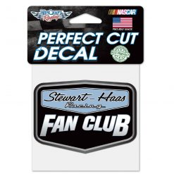 Exclusive Stewart-Haas Racing Fan Club 4X4 Decal