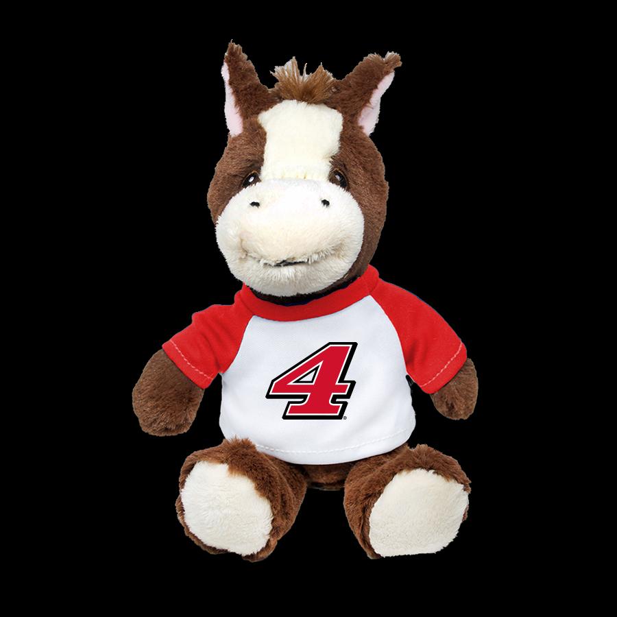 Exclusive Kevin Harvick Stewart-Haas Racing Zoovenir Horse #4