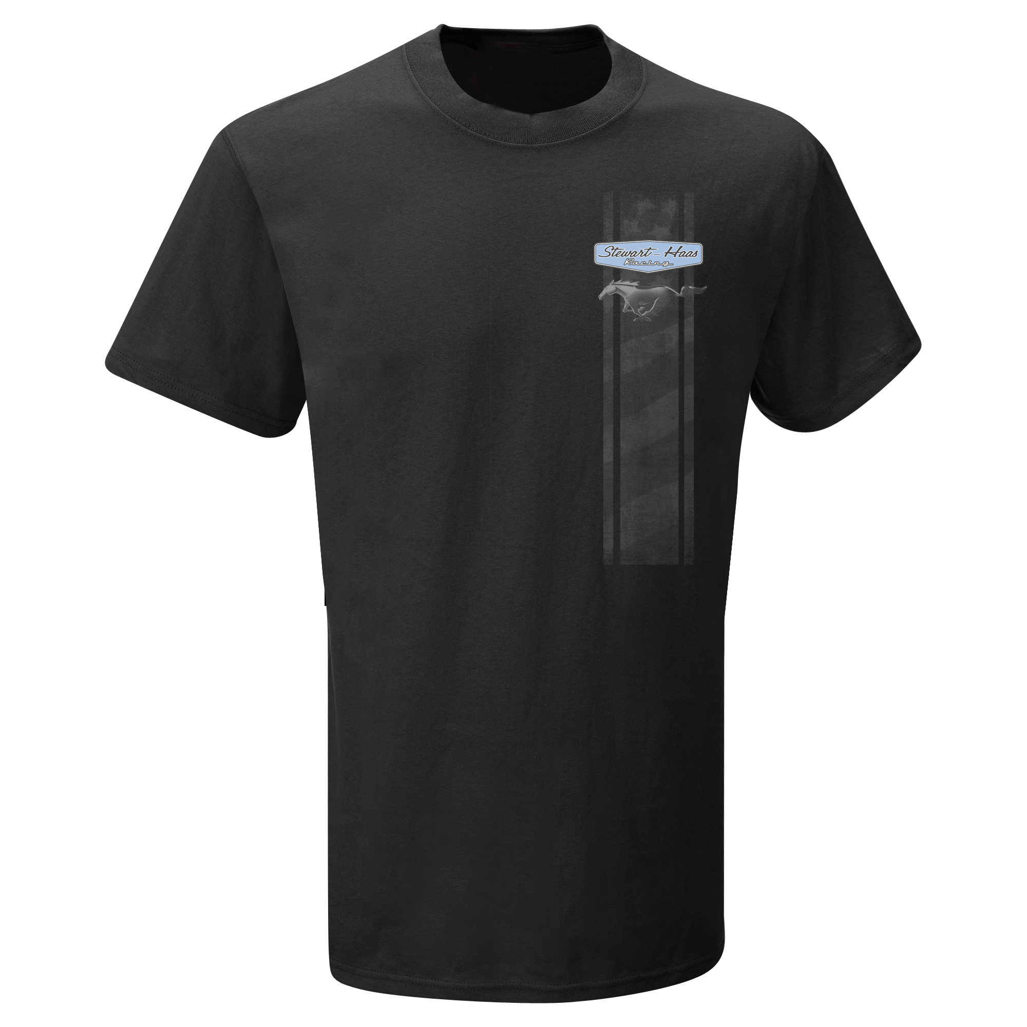 Exclusive Stewart-Haas Racing Black Ford Mustang Tee