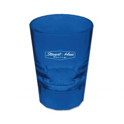 SHR Blue Acrylic 2oz Shot Glass