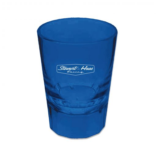 Exclusive Stewart-Haas Racing Blue Acrylic 2oz Shot Glass