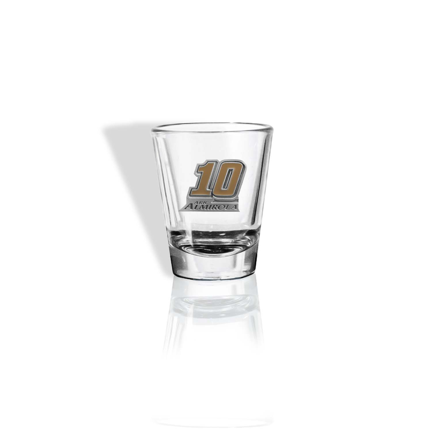 Aric Almirola #10 Stewart-Haas Racing Round Shot Glass
