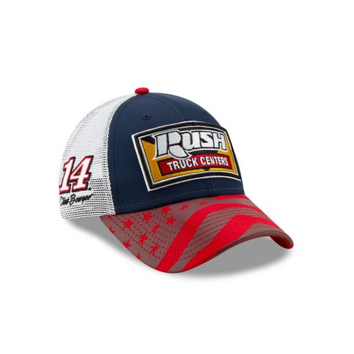 Clint Bowyer 2019 New Era Rush Truck Centers Stewart-Haas Racing American Salutes Hat