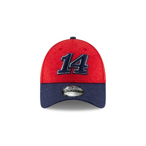 Clint Bowyer 2019 New Era Stewart-Haas Racing Americana Shadow Flag Hat