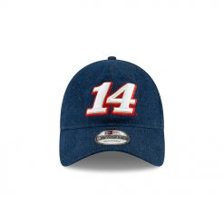 Clint Bowyer 2019 New Era Stewart-Haas Racing Americana Denim Hat