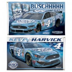 Kevin Harvick 2020 Busch Light Stewart-Haas Racing 3X5 2 Sided Flag