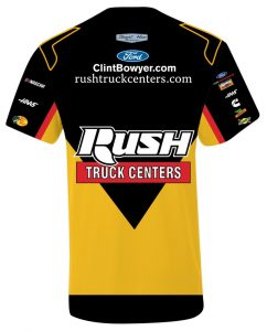 Clint Bowyer 2019 Rush Truck Centers Stewart-Haas Racing Pit Crew Sublimated Tee