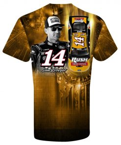 Clint Bowyer 2019 Rush Truck Centers Stewart-Haas Racing Youth Sublimated Tee