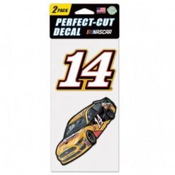 Clint Bowyer 2019 Rush Truck Centers Stewart-Haas Racing 2pk 4X4 Decals