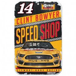 Clint Bowyer 2019 Rush Truck Centers Stewart-Haas Racing 11X17 Sign