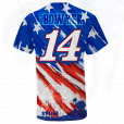 Clint Bowyer 2019 Stewart-Haas Racing American Sublimated Tee