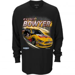 Clint Bowyer 2019 Rush Truck Centers Stewart-Haas Racing Long Sleeve Tee