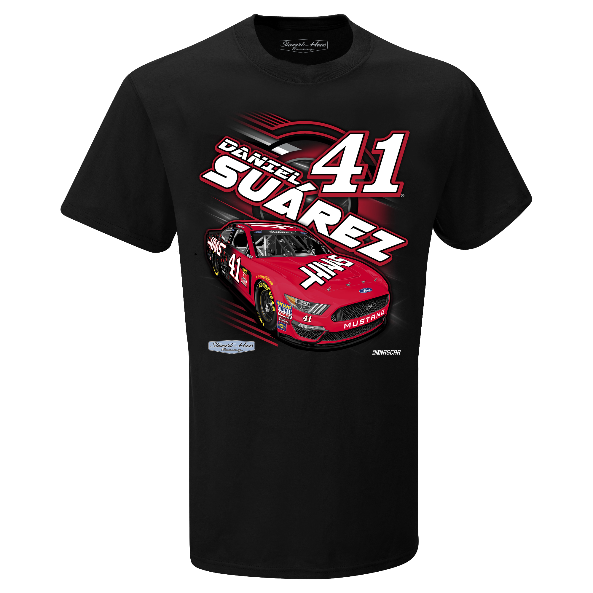 Daniel Suarez 2019 Haas Stewart-Haas Racing Youth Power Tee