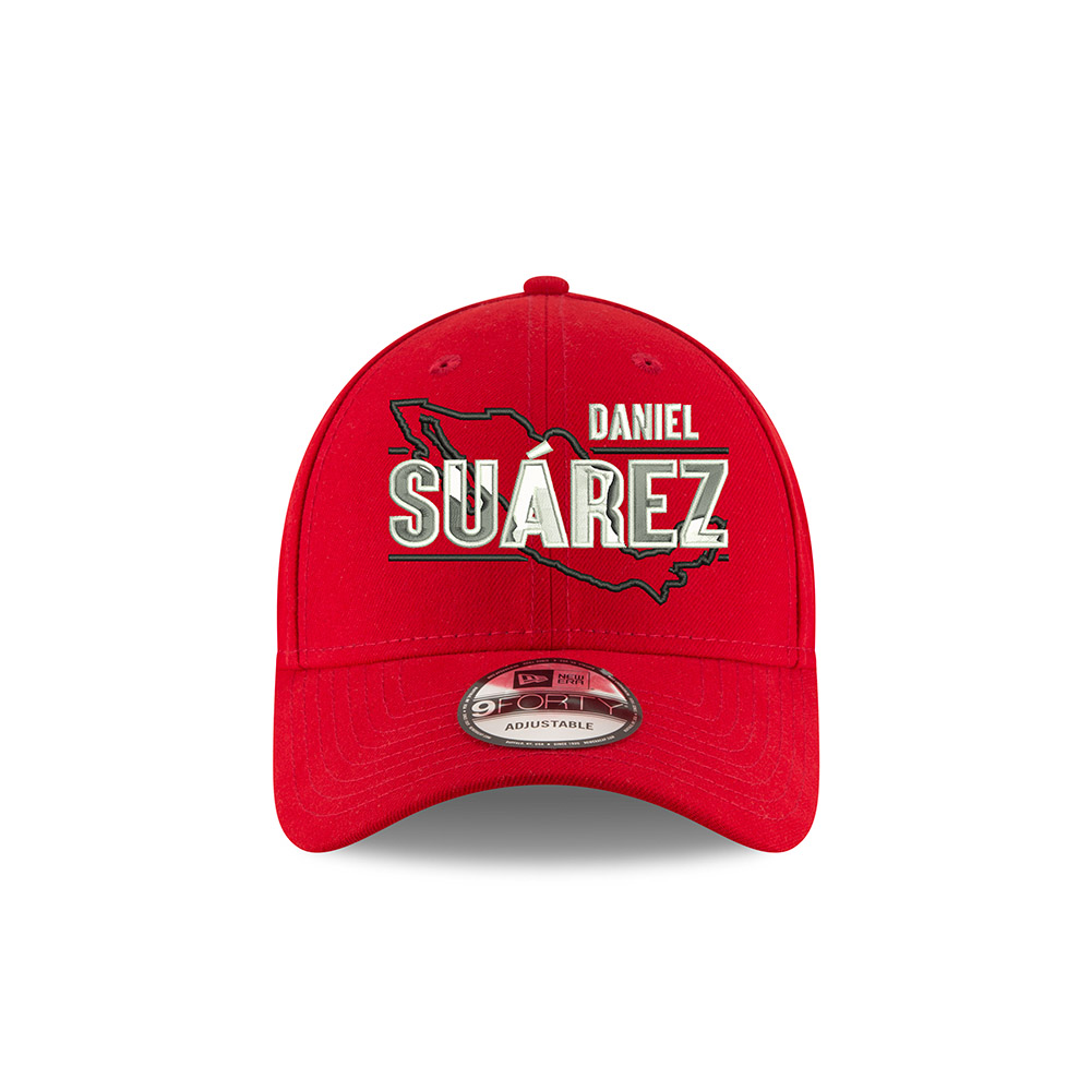 Daniel Suarez 2019 New Era Stewart-Haas Racing Red Hat
