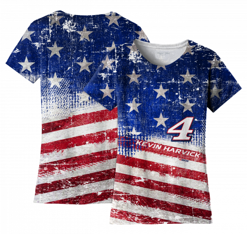 KH 2019 Ladies American RWB Sublimated Tee