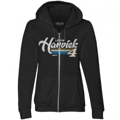 Kevin Harvick Busch Stewart-Haas Racing Ladies Retro Zip Hoodie