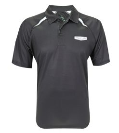 Exclusive Stewart-Haas Racing Black Sublimated Polo