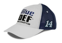 Clint Bowyer 2019 Blue Def Stewart-Haas Racing Team Hat