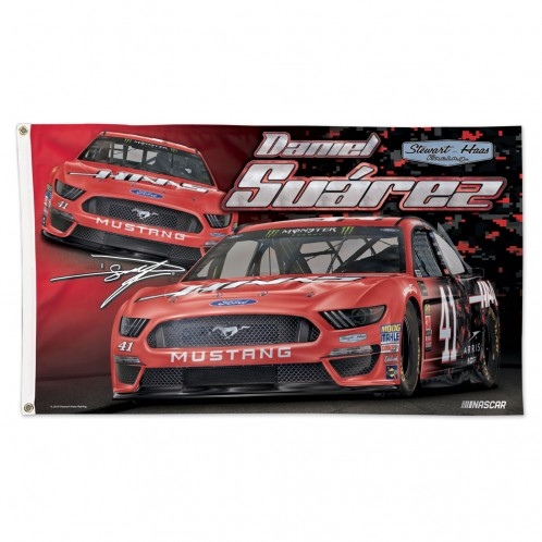 16767e923a2 DS 2019 Haas 3X5 Flag - Stewart-Haas Racing