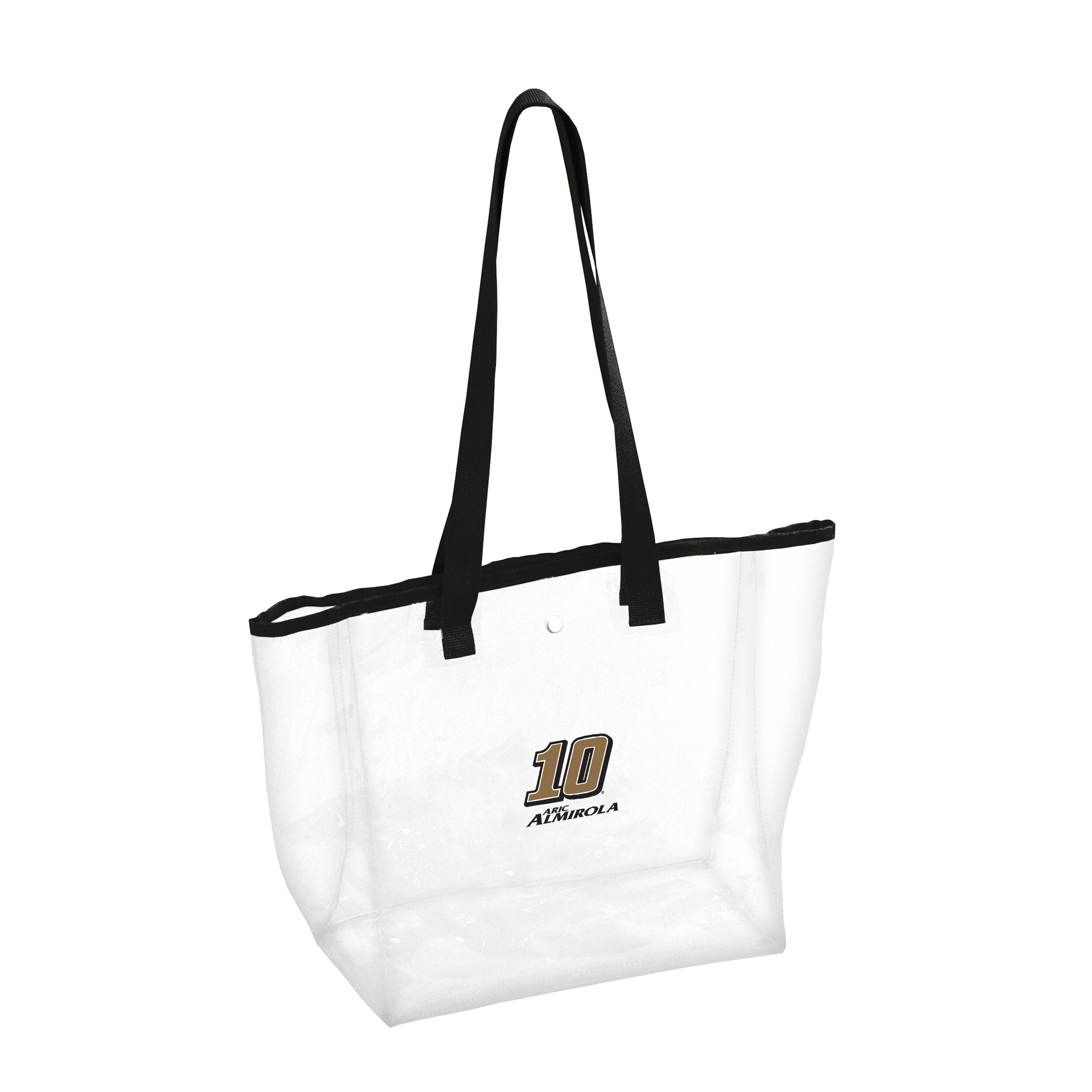 Aric Almirola 2019 Smithfield Stewart-Haas Racing Clear/Black Stadium Bag