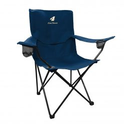 Kevin Harvick Stewart-Haas Racing Navy Folding Varsity Chair
