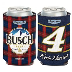 KH 2019 Busch Flannel Can Cooler