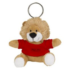 SHR Mini Lion Plush Key Chain