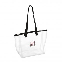 Clint Bowyer 2019 Stewart-Haas Racing Clear/Black Stadium Bag