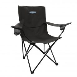 Exclusive Stewart-Haas Racing Black Varsity Folding Chair