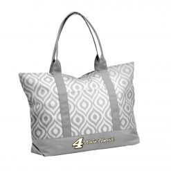 KH 2019 Gray Ikat Tote Bag