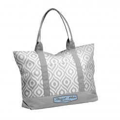 Exclusive Stewart-Haas Racing 2019 Gray Ikat Tote Bag
