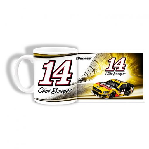 Clint Bowyer 2019 Rush Truck Centers Stewart-Haas Racing Sublimated Mug
