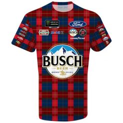KH 2019 Busch Sublimated Flannel Tee