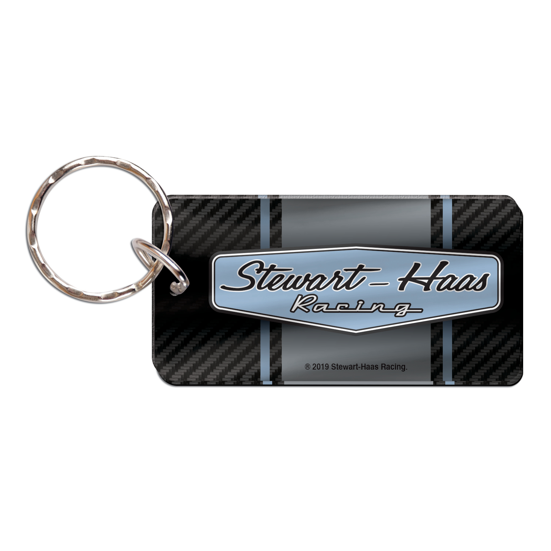 Exclusive Stewart-Haas Racing Carbon Key Ring